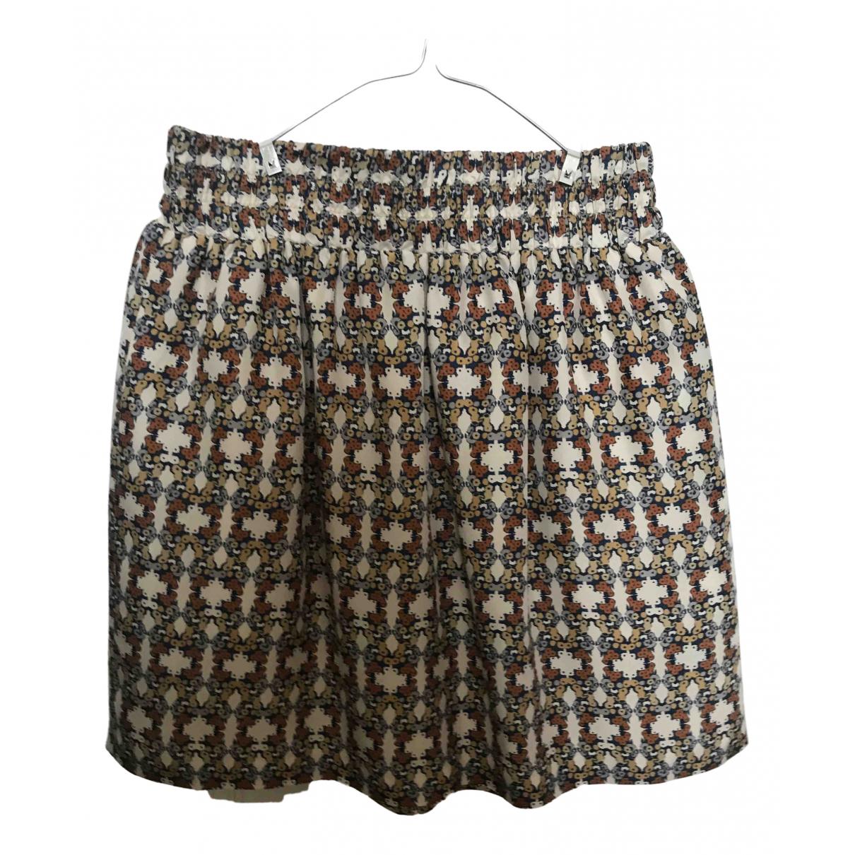 Club Monaco N Beige Silk skirt for Women S International