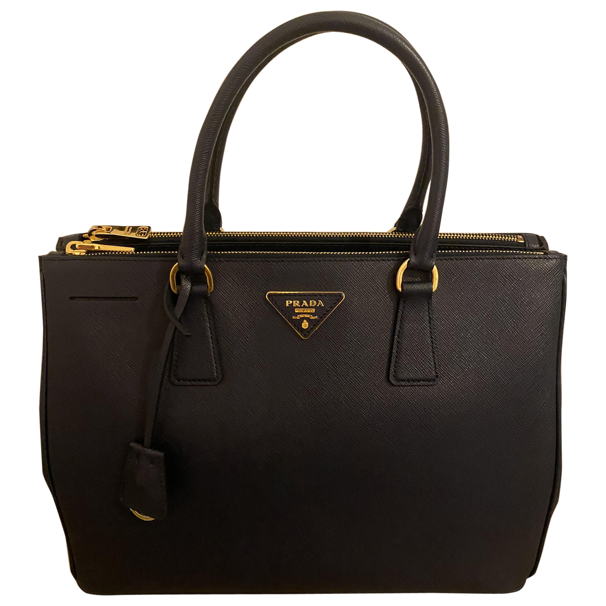 Prada Galleria Blue Leather handbag for Women \N