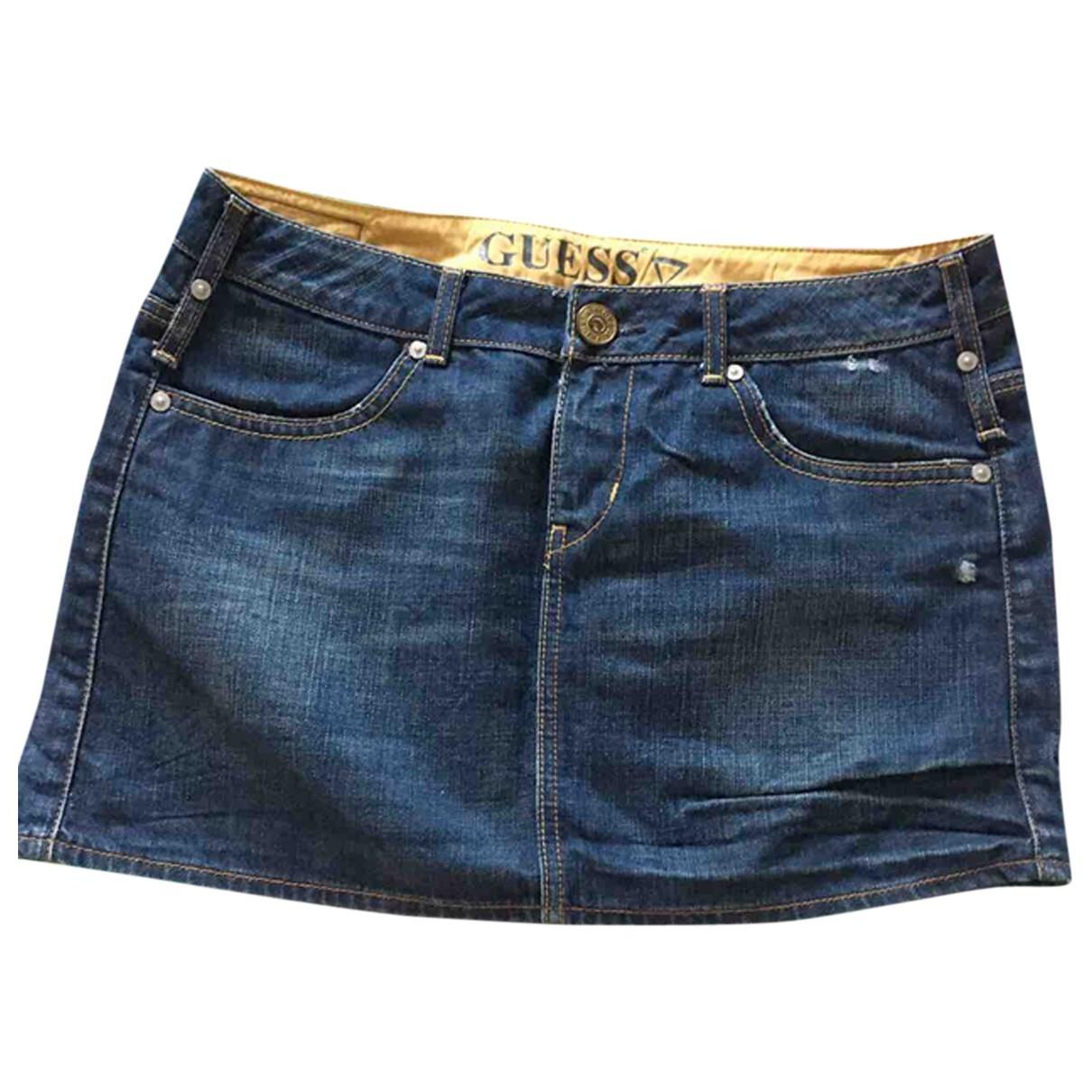 Guess N Blue Denim - Jeans skirt for Women 42 IT