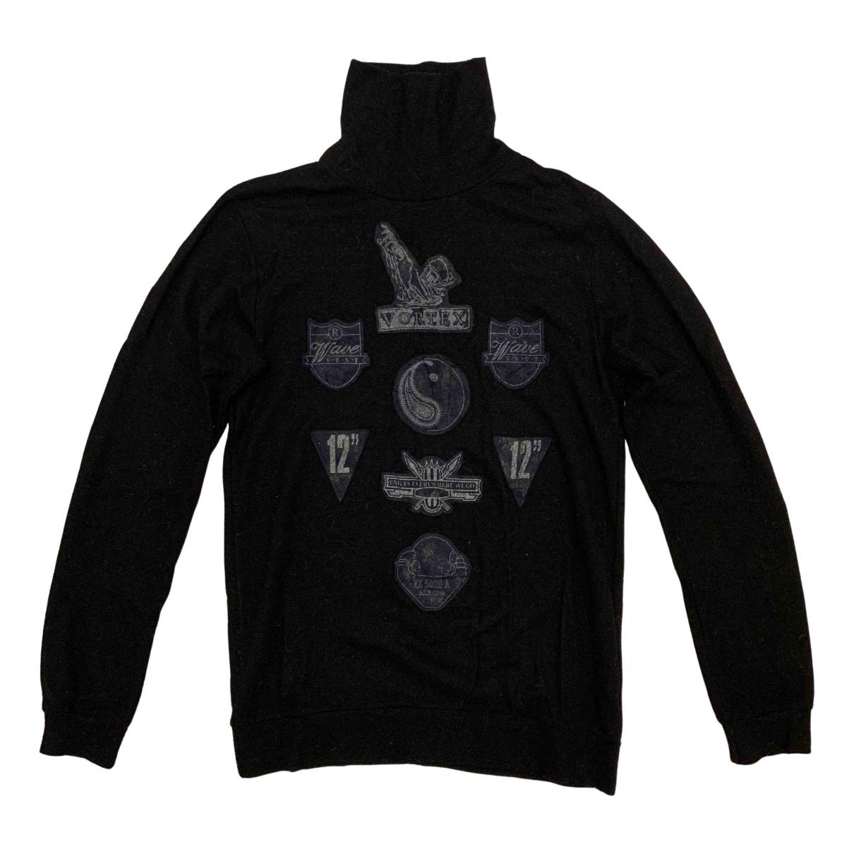 Raf Simons \N Pullover.Westen.Sweatshirts  in  Schwarz Wolle