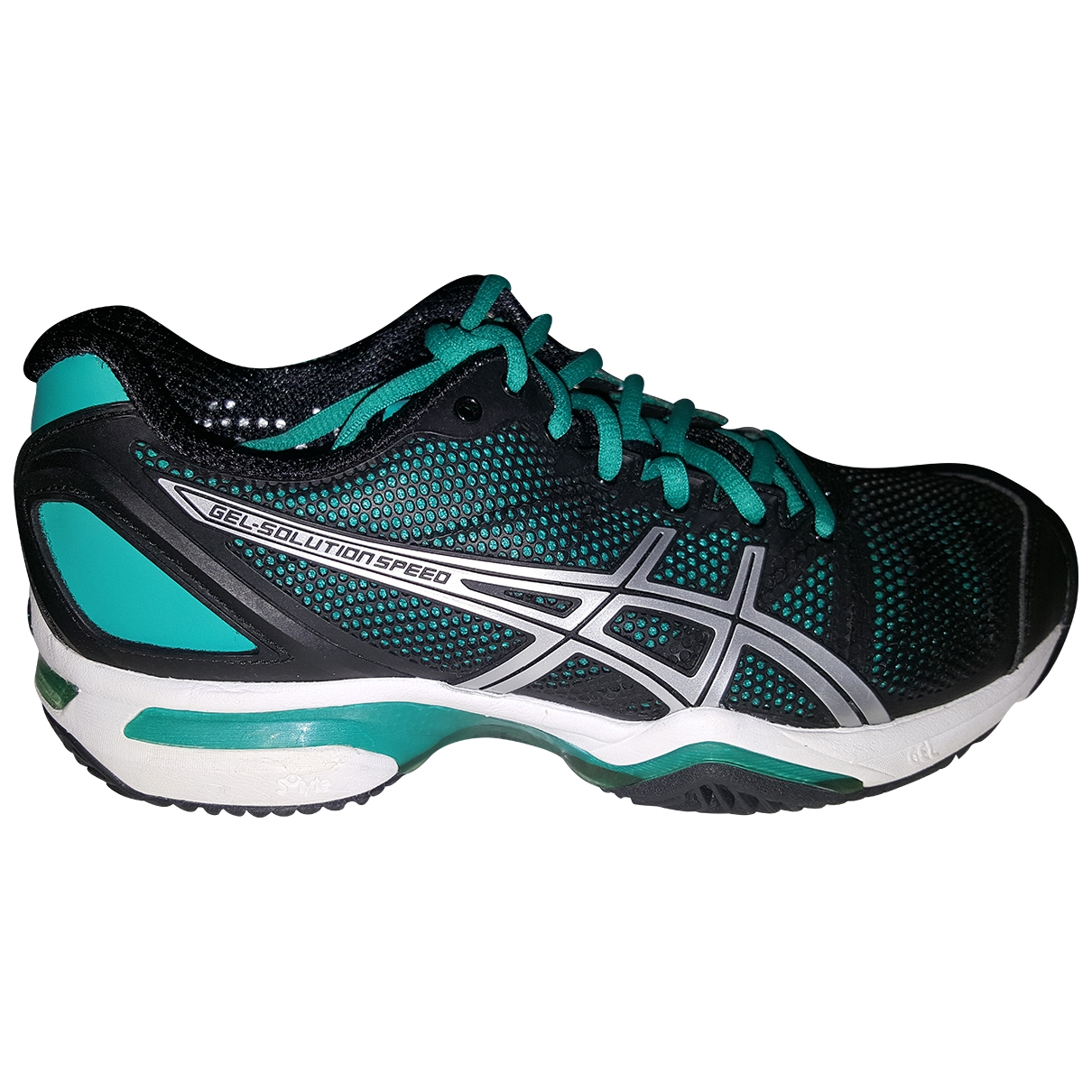 Asics \N Black Leather Trainers for Women 37 IT