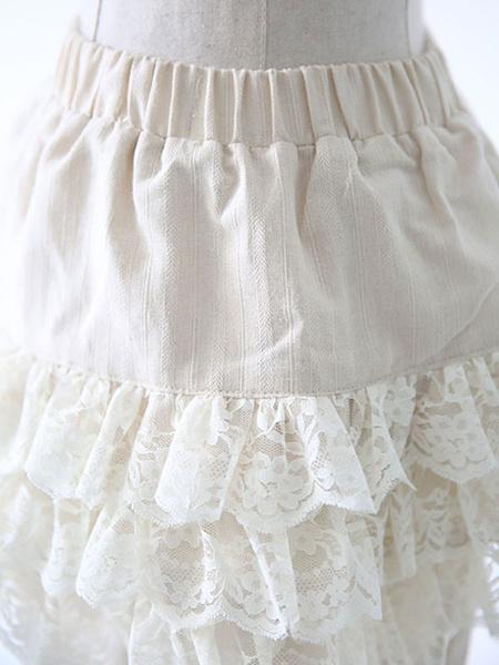 Milanoo Sweet Lolita Blommer Lolita Shorts For Summer