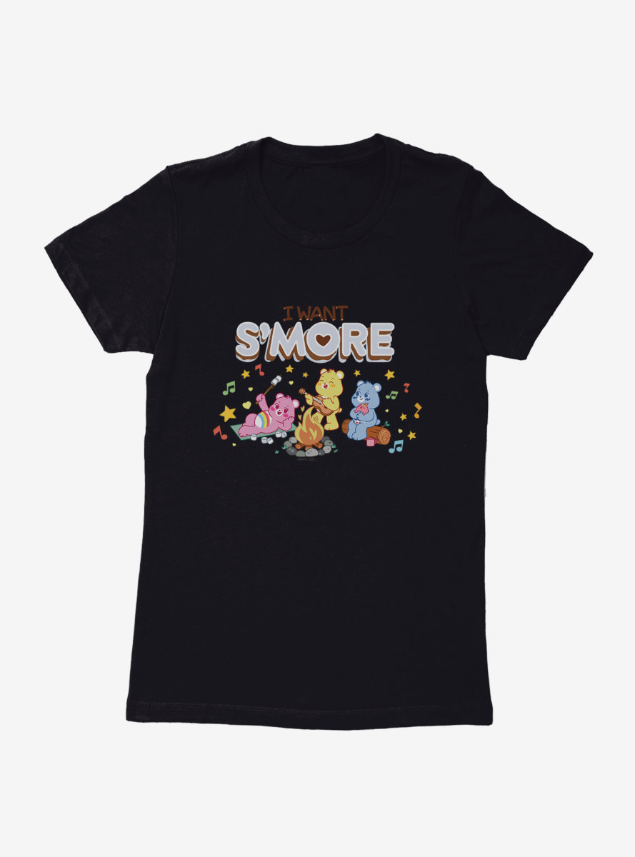 Care Bears I Want S'more Womens T-Shirt