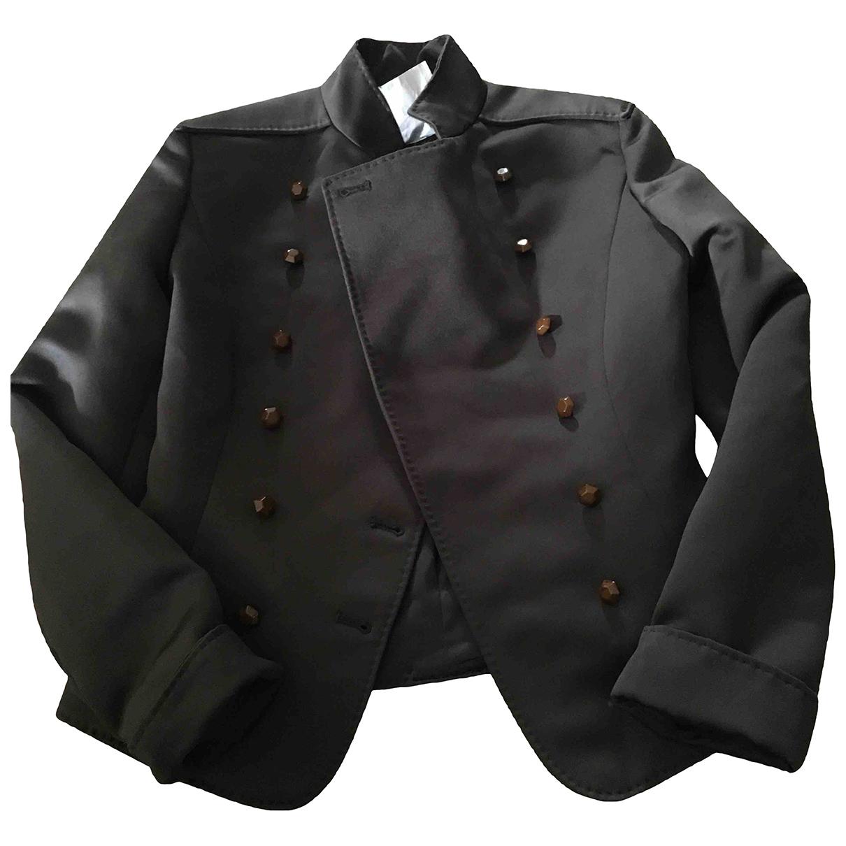 Armani Collezioni \N Jacke in  Gruen Polyester