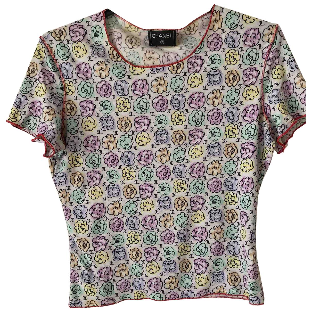 Chanel - Top   pour femme - multicolore