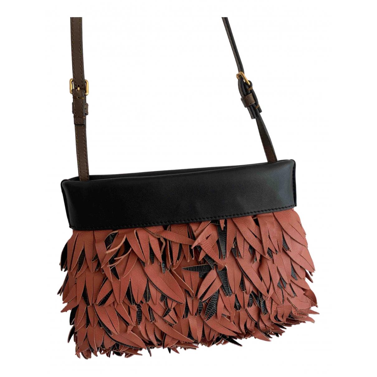 Marni N Brown Leather handbag for Women N