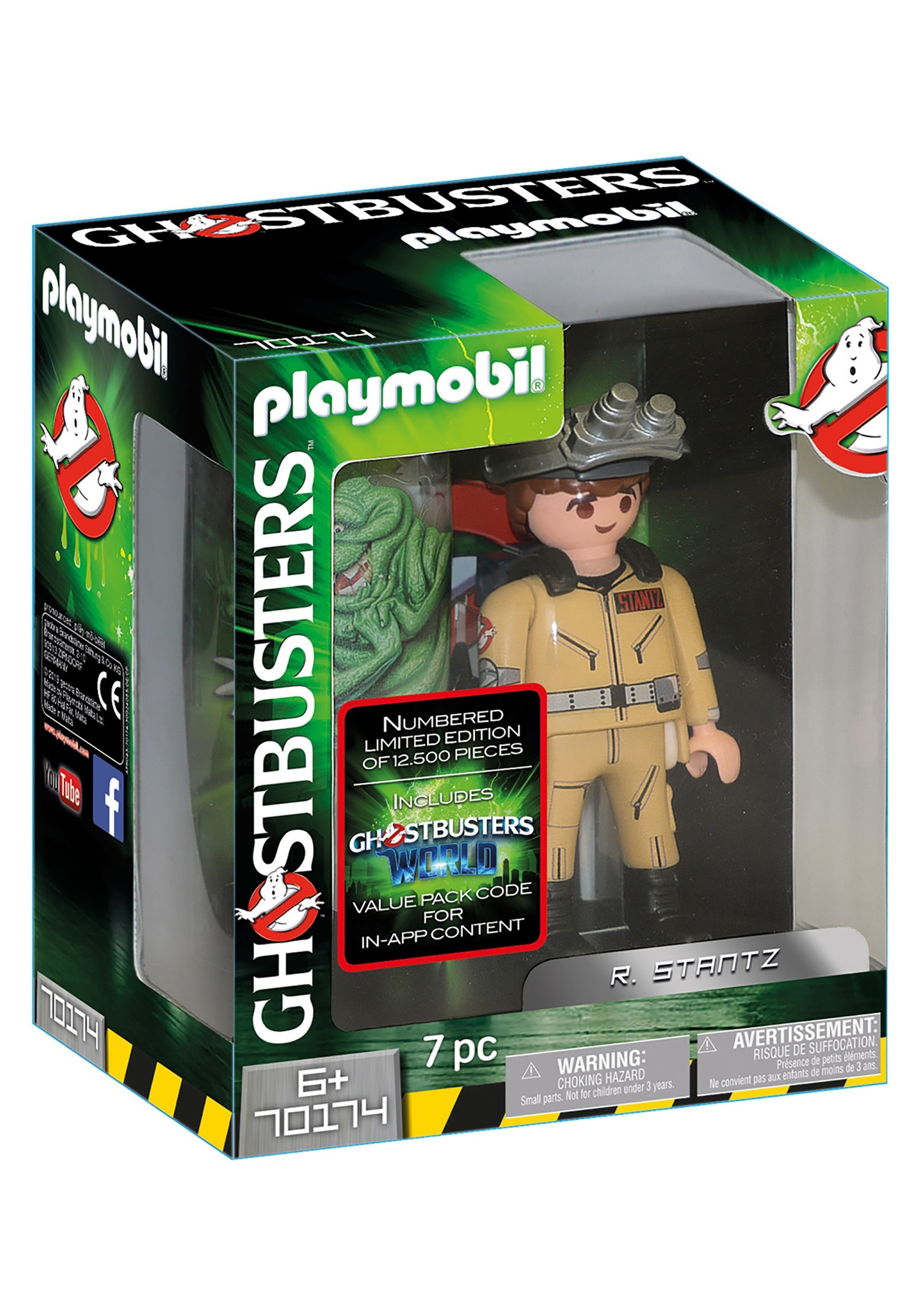Ghostbusters Playmobil Collector's Edition R. Stantz