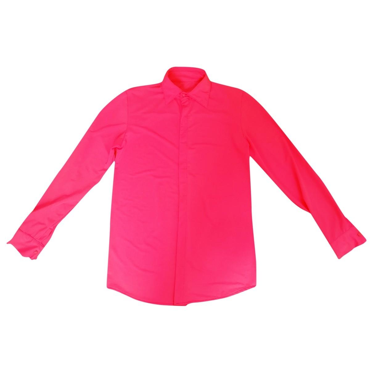 - Chemises   pour homme - rose
