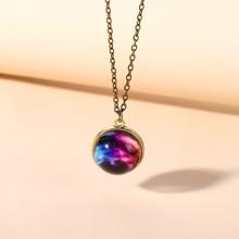 Galaxy Design Charm Necklace