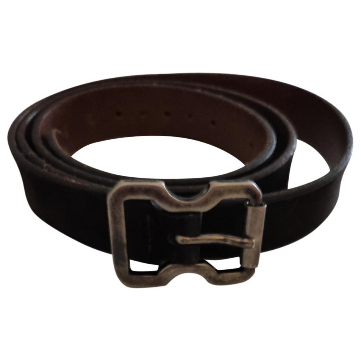 Maison Martin Margiela \N Brown Leather belt for Men 90 cm