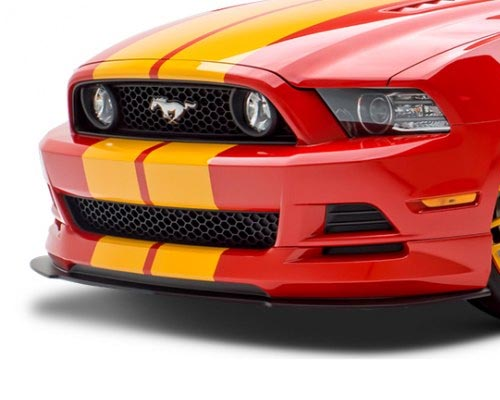 3dCarbon 692016 Boy Racer Front Air Dam Ford Mustang 13-14
