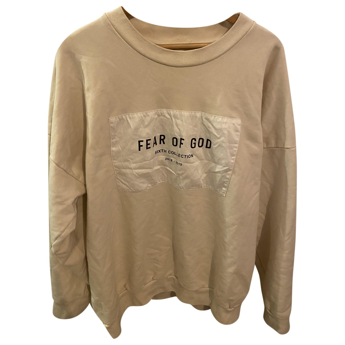 Fear Of God \N Pullover.Westen.Sweatshirts  in  Beige Baumwolle
