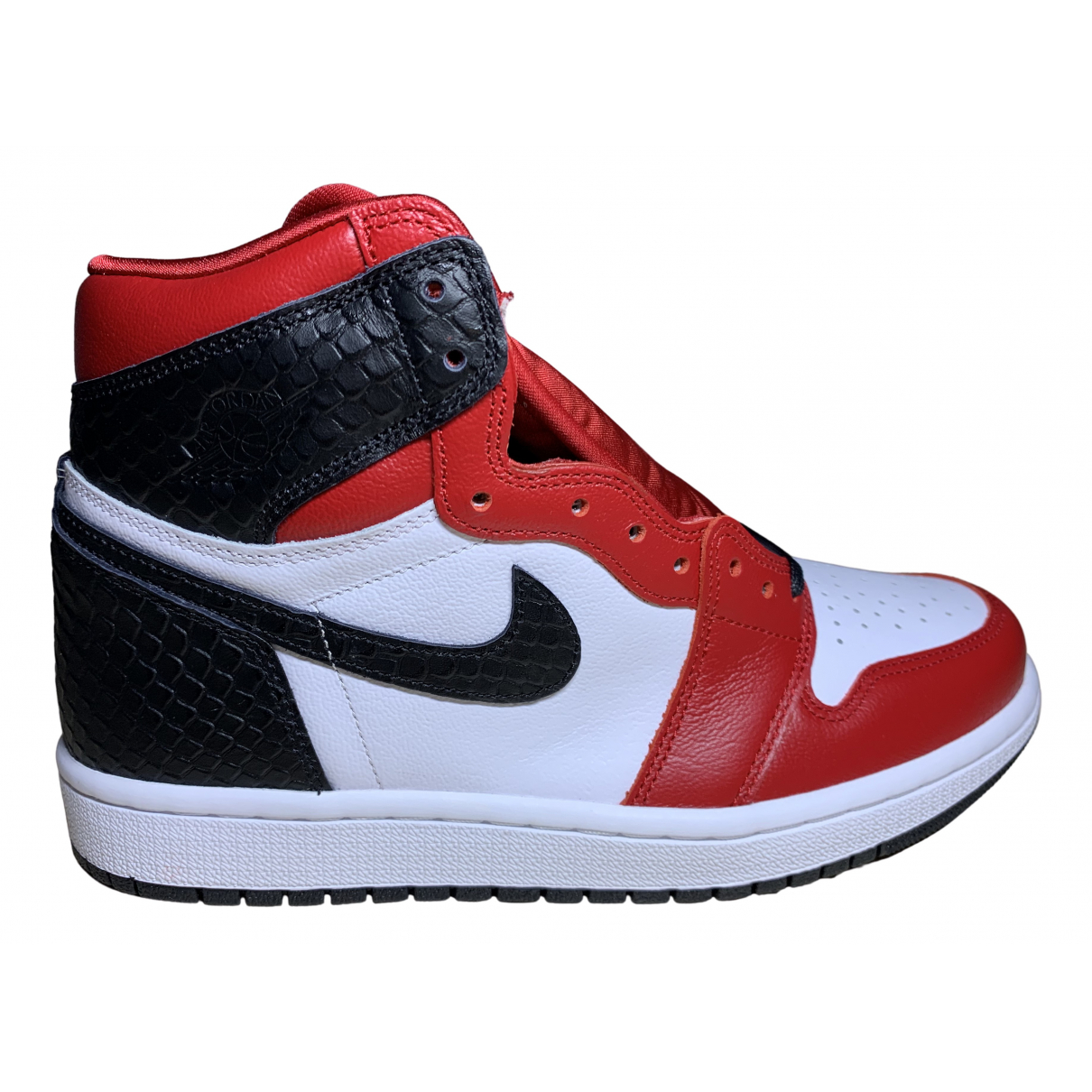 Jordan - Baskets Air Jordan 1  pour femme - rouge