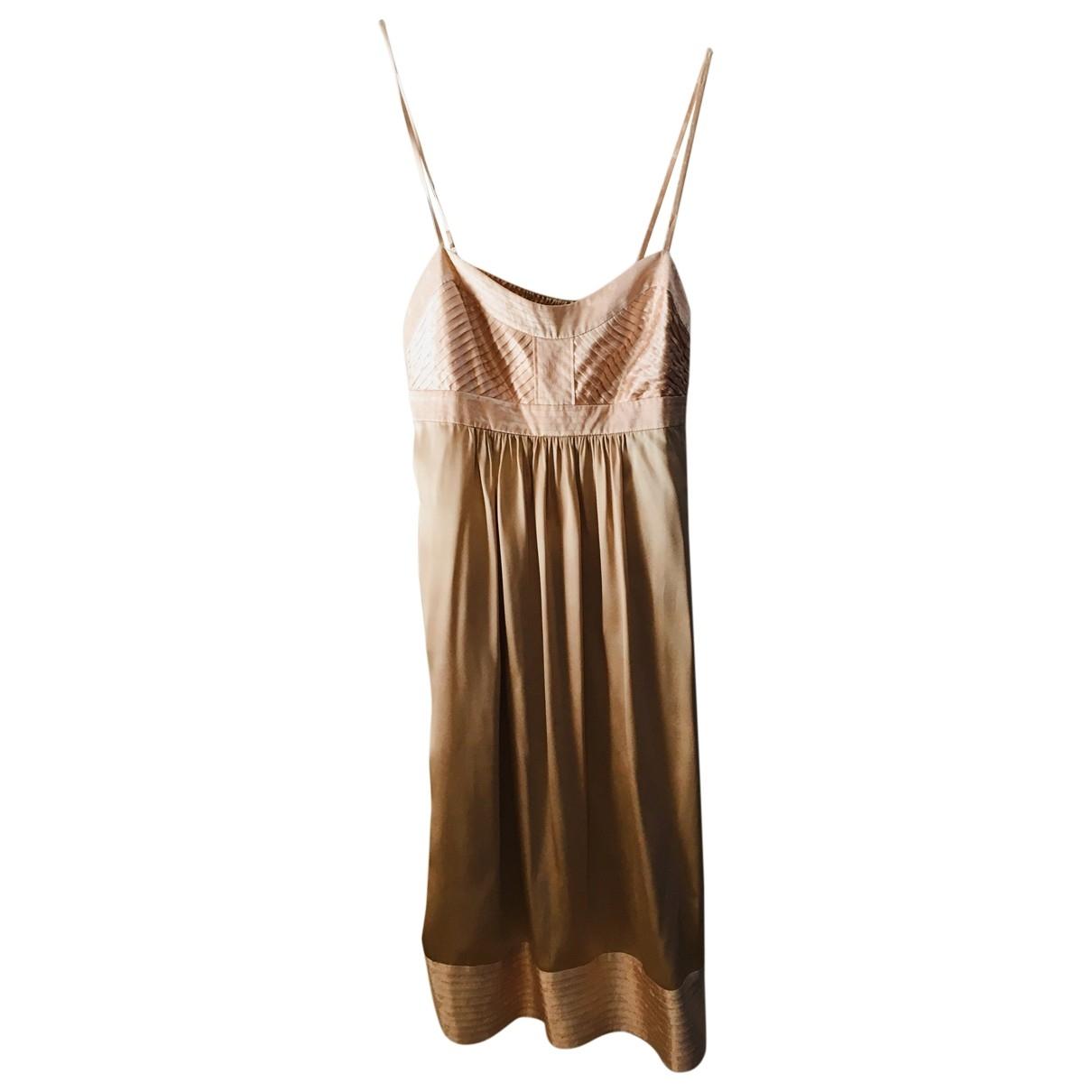 Les Petites \N Pink Silk dress for Women 38 FR