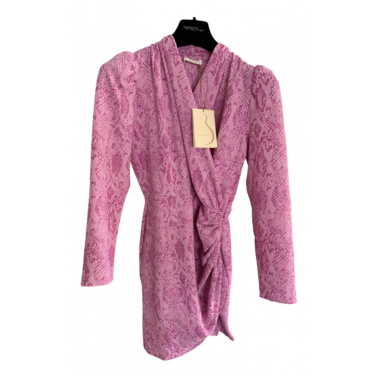 Stine Goya \N Kleid in  Rosa Polyester