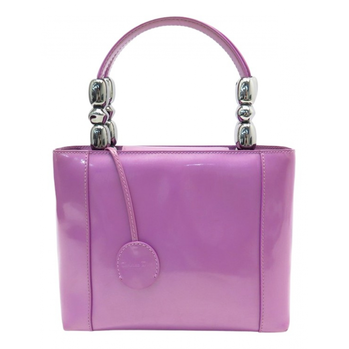 Dior \N Purple Patent leather handbag for Women \N