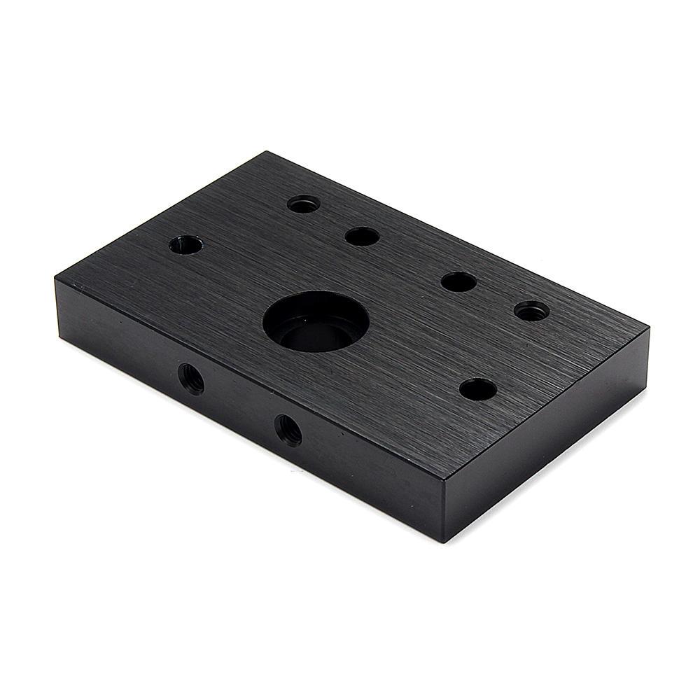 Machifit C-beam End Mount U Type Aluminium Face Mounting Plate for Linear Actuator Aluminum Extrusions