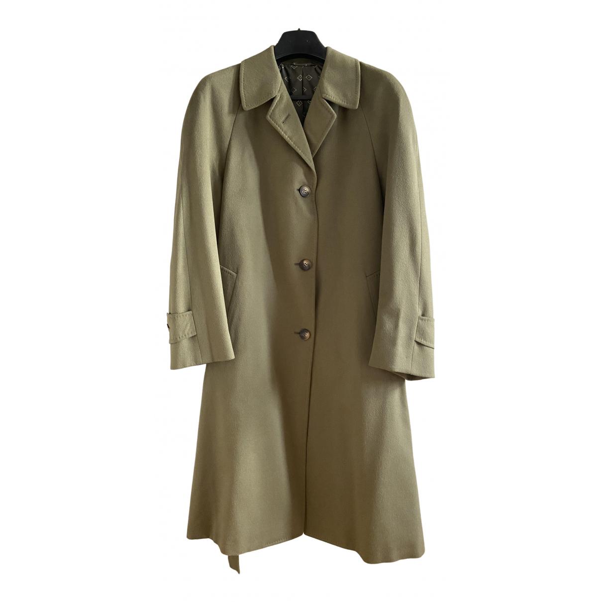 - Manteau   pour femme en cachemire - vert