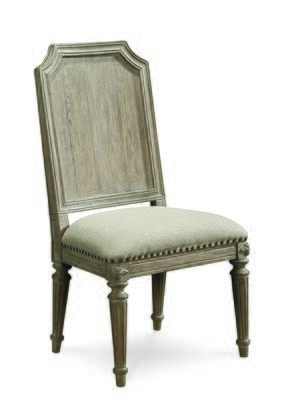 233202-2802 Arch Salvage  Mills Side Chair in Light