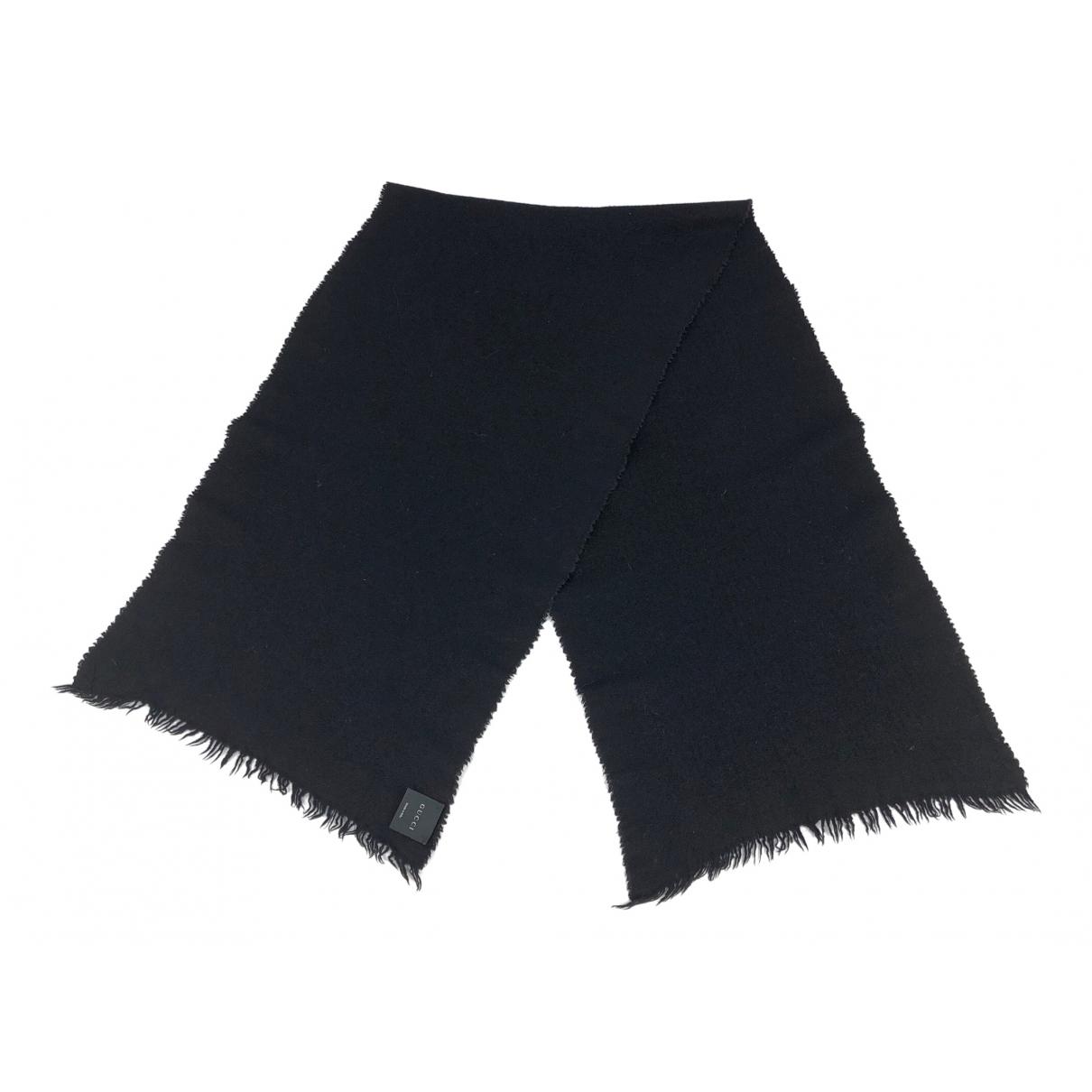 Gucci \N Black Wool scarf for Women \N