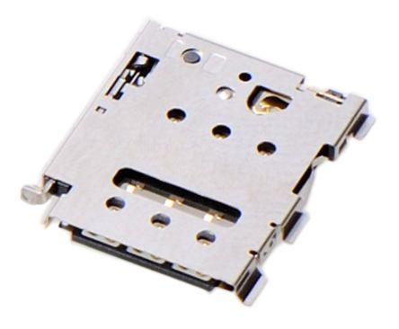 Molex 6 Way Right Angle Nano Sim SIM Card Connector With Solder Termination (50)