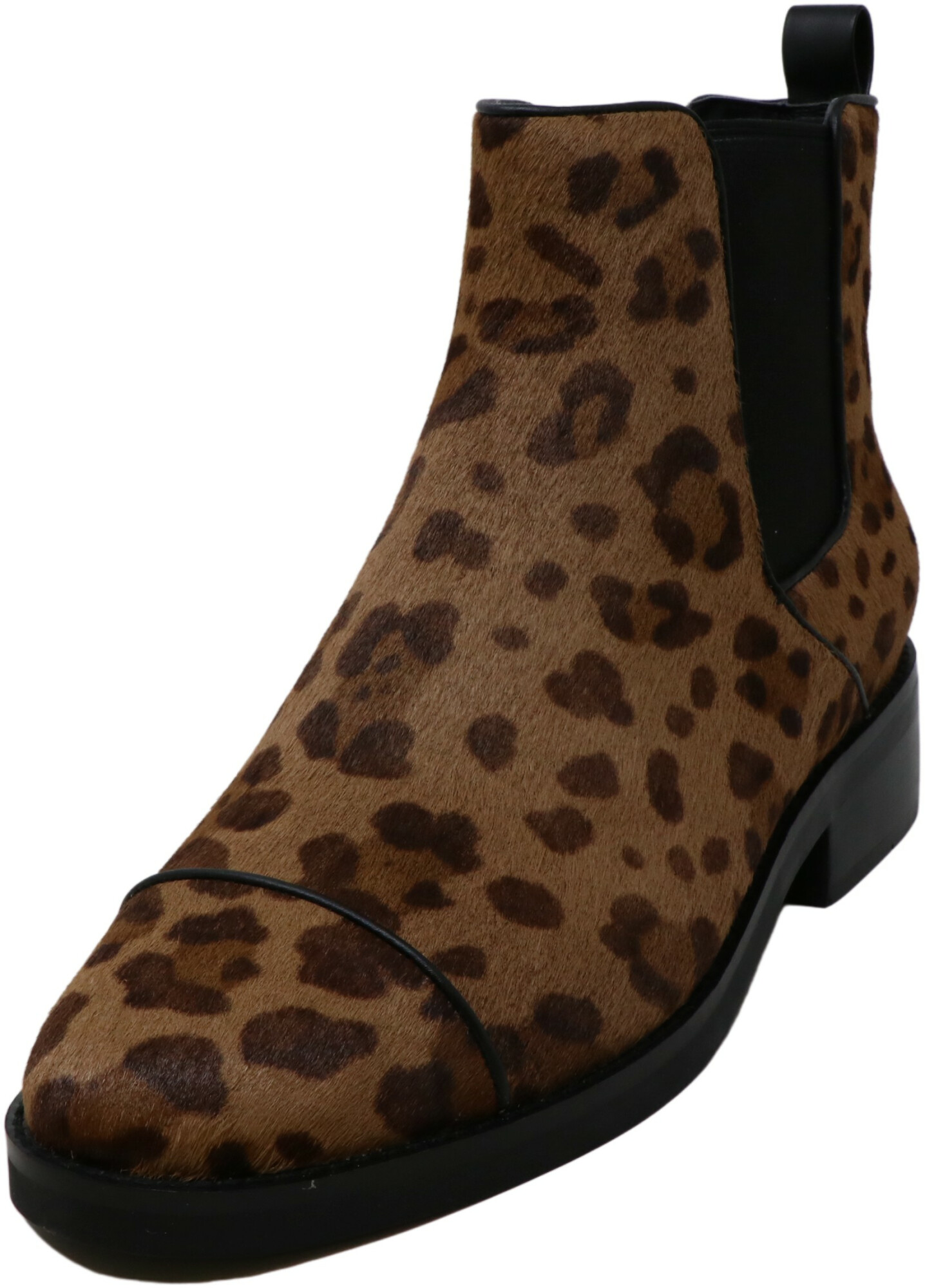 Cole Haan Women's Mara Grand Chelsea Boot Leather Ocelot Ankle-High Haircalf - 11M