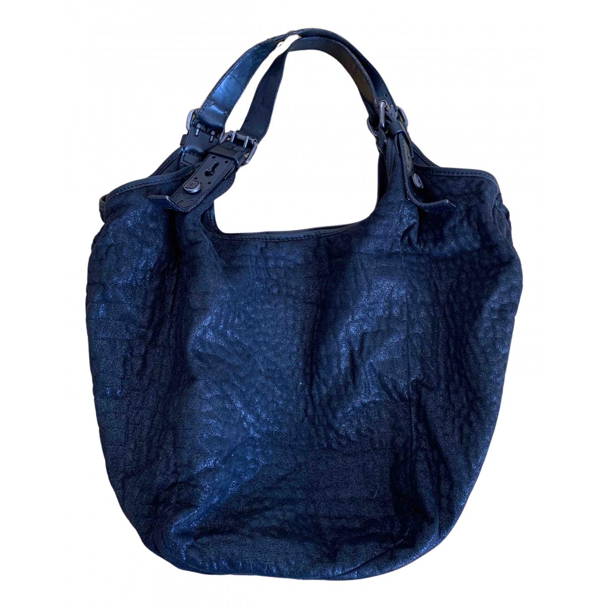 Givenchy - Sac a main   pour femme en suede - noir