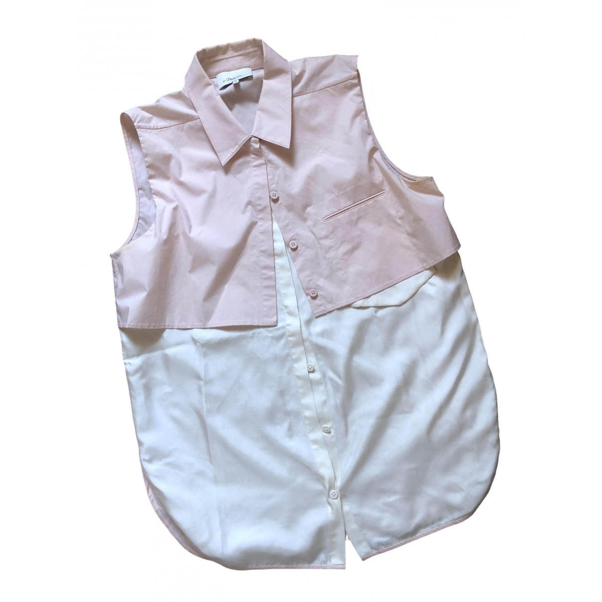 3.1 Phillip Lim - Top   pour femme en coton - rose