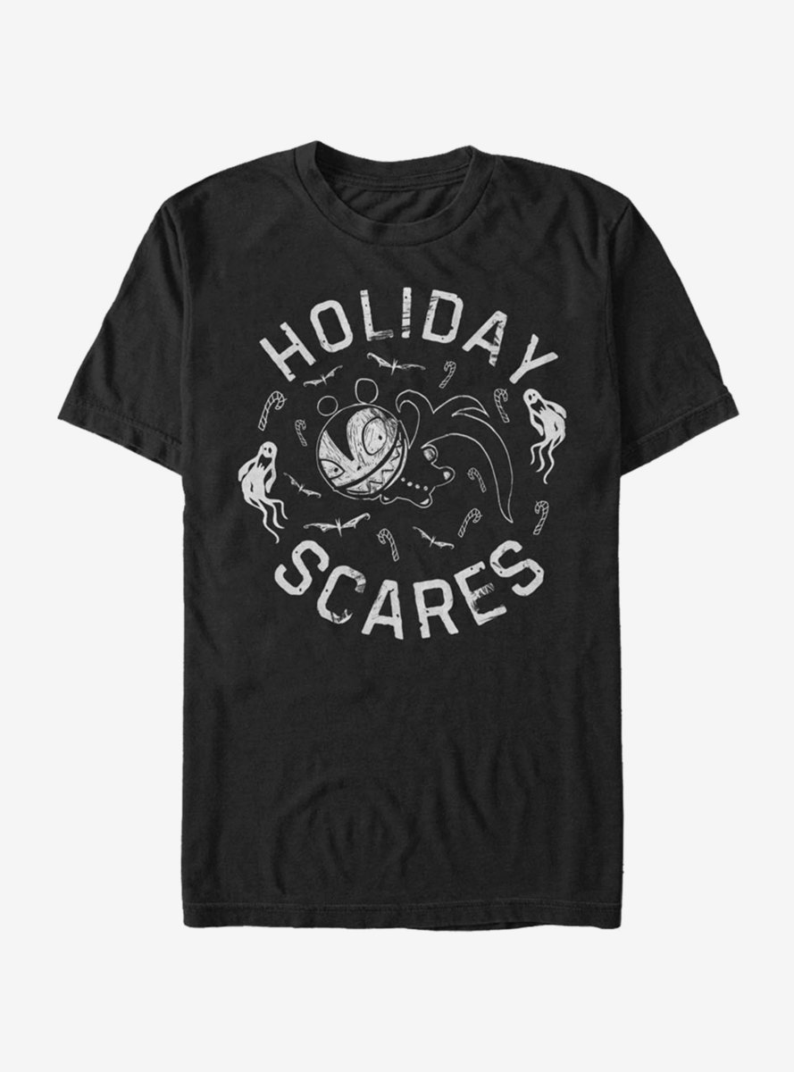 Disney The Nightmare Before Christmas Holiday Scares Doll T-Shirt