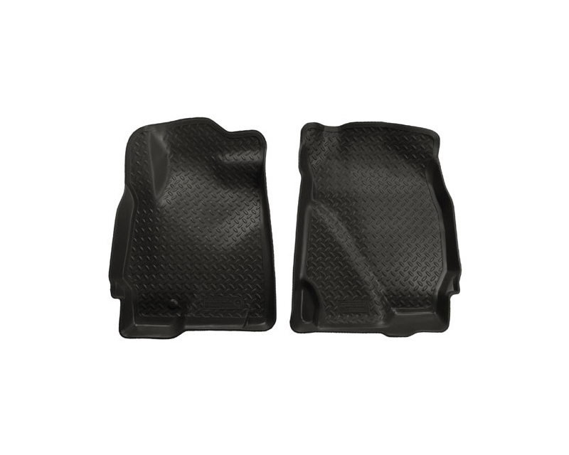 Husky Floor Liners Front 05-08 Escape/Tribute/Mariner Classic Style-Black