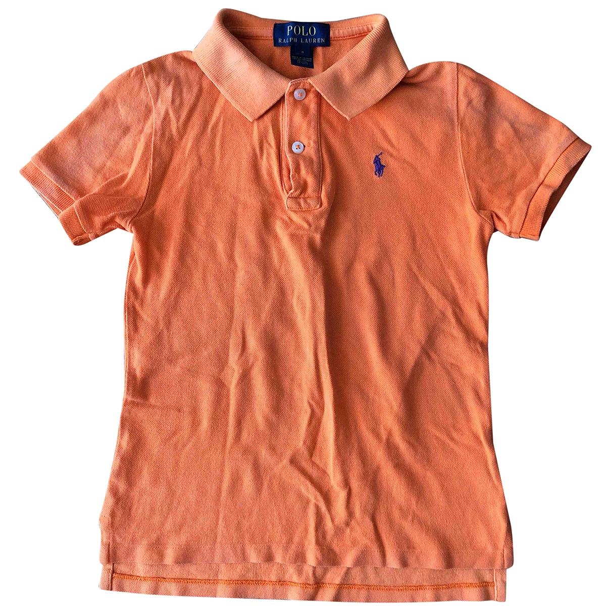 Polo Ralph Lauren - Top   pour enfant en coton - orange
