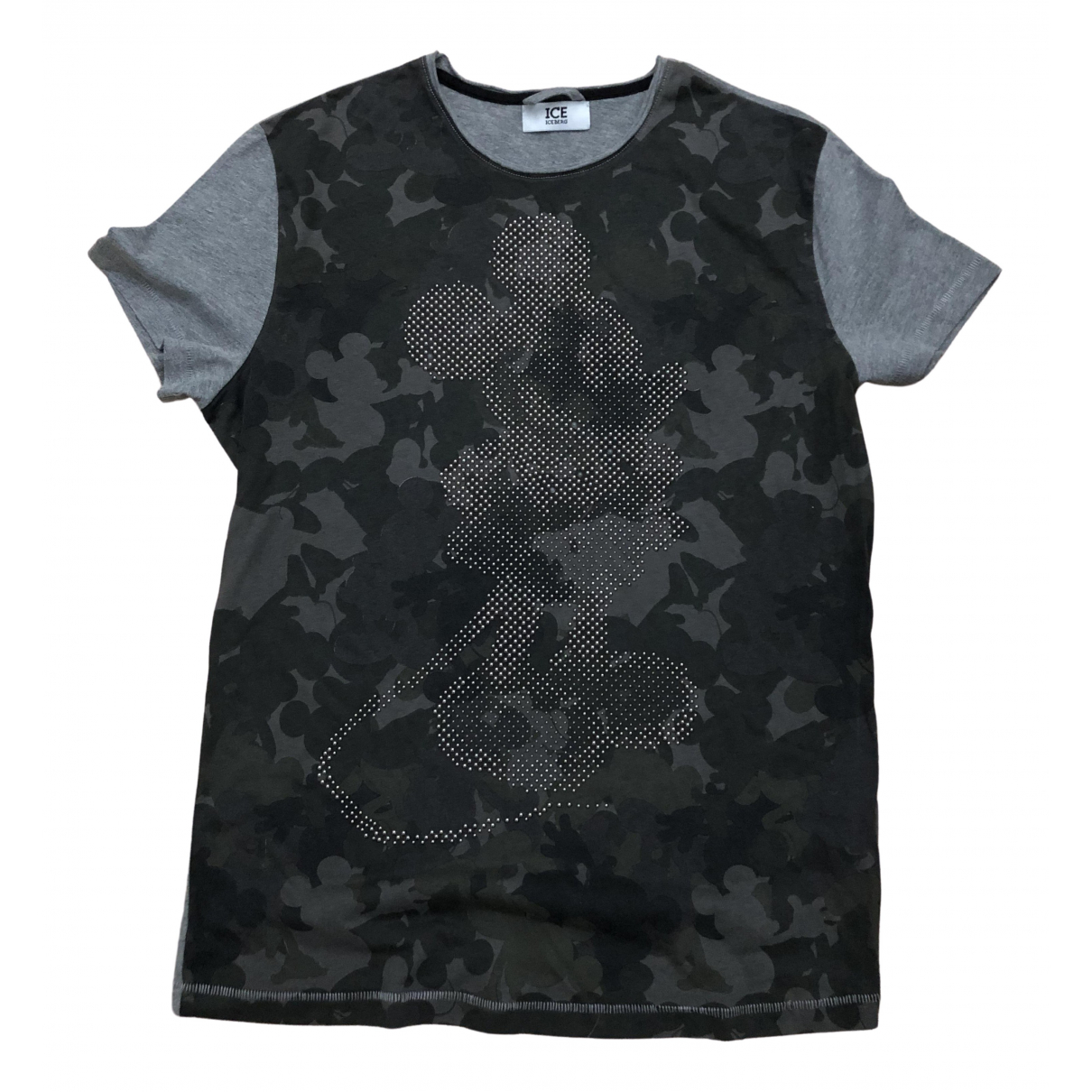 Iceberg \N Grey Cotton T-shirts for Men S International