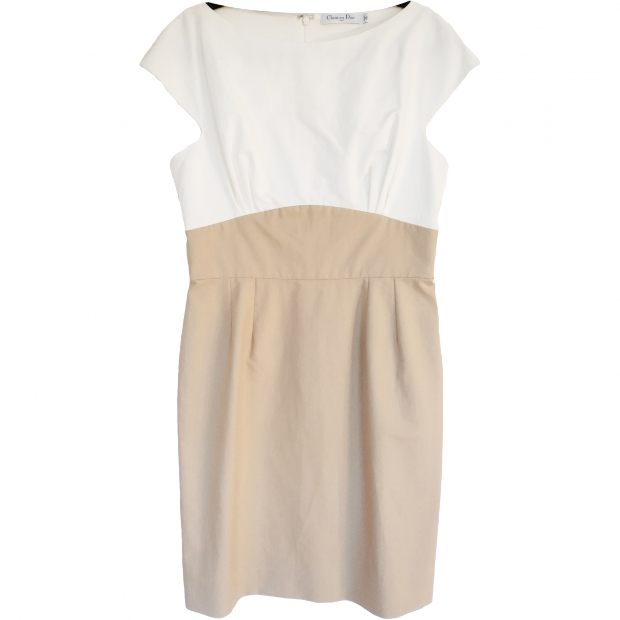 Dior \N Beige Cotton dress for Women 44 FR