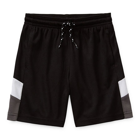 Okie Dokie Active Toddler Boys Pull-On Short, 4t , Black