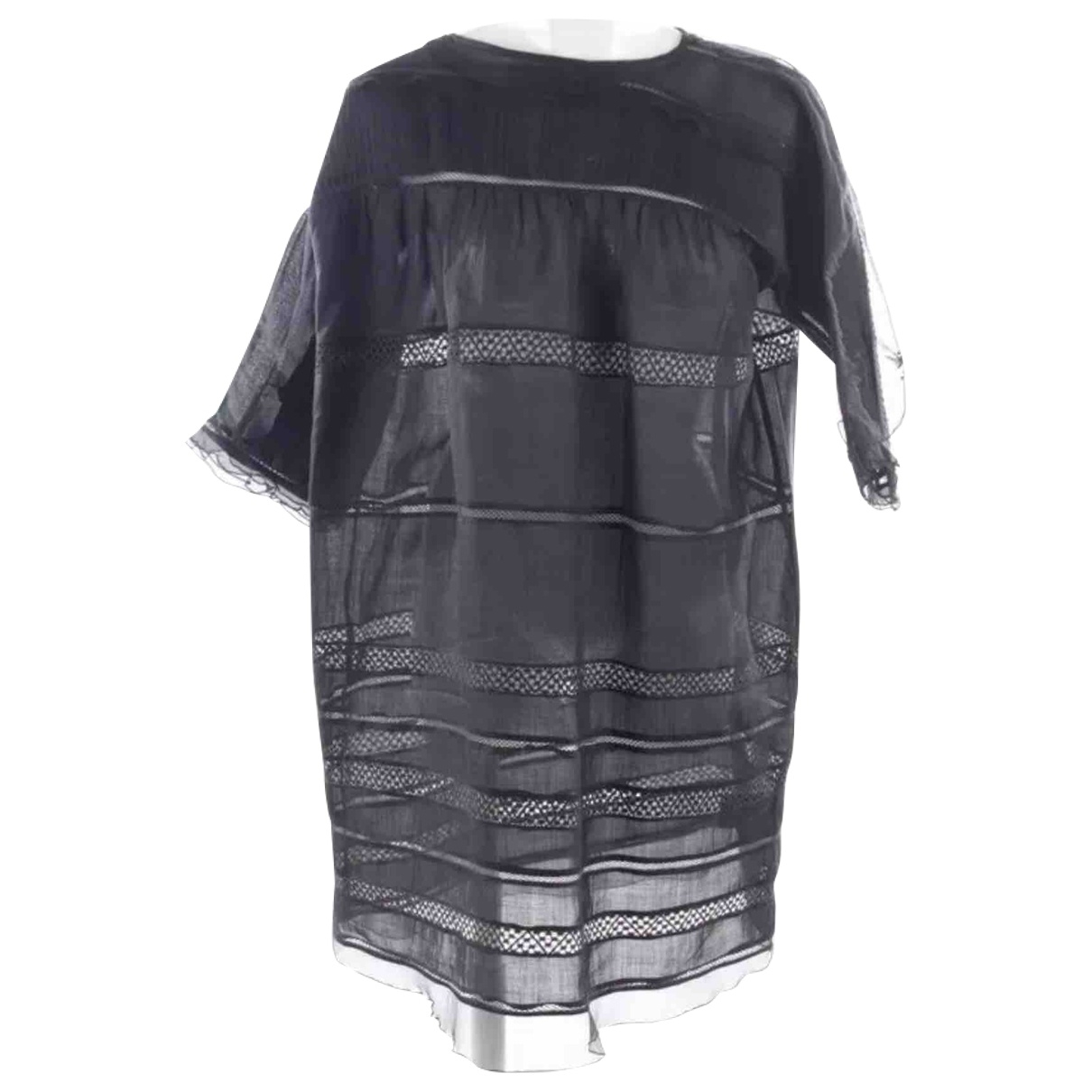 Isabel Marant \N Black Linen dress for Women 38 FR