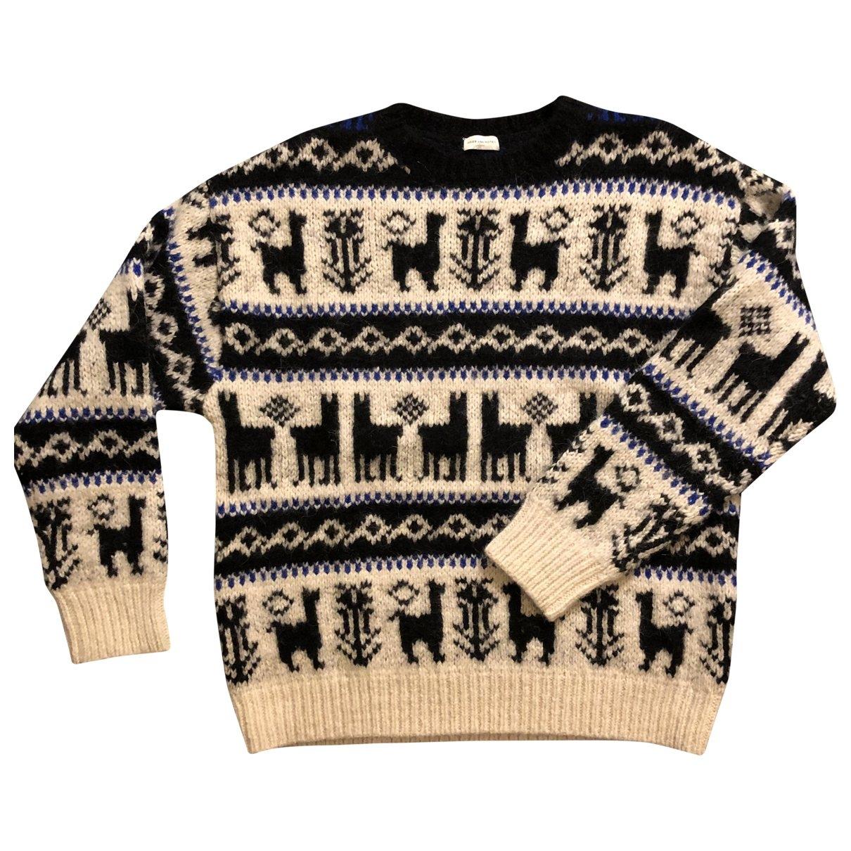 Dries Van Noten - Pulls.Gilets.Sweats   pour homme en laine - blanc