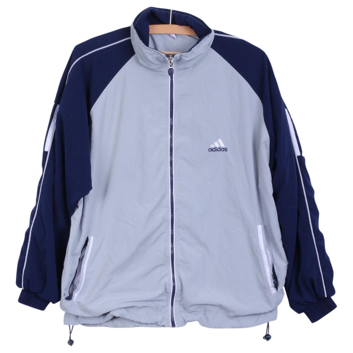 Adidas \N Jacke in  Grau Polyester