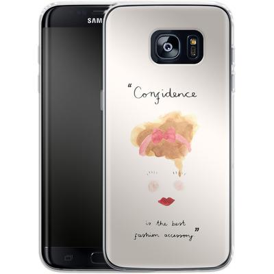 Samsung Galaxy S7 Edge Silikon Handyhuelle - Confidence von caseable Designs