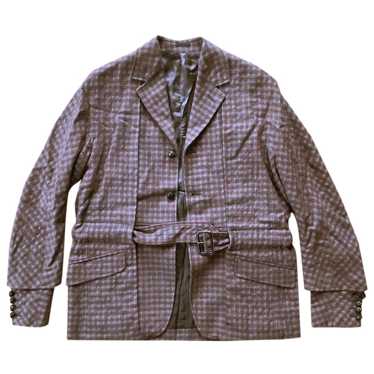 Alexander Mcqueen - Vestes.Blousons   pour homme en laine - multicolore