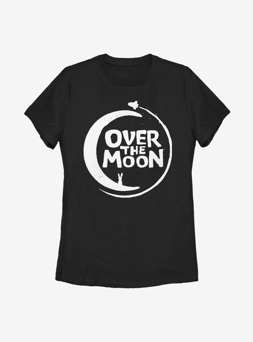 Over The Moon Logo Solid Womens T-Shirt