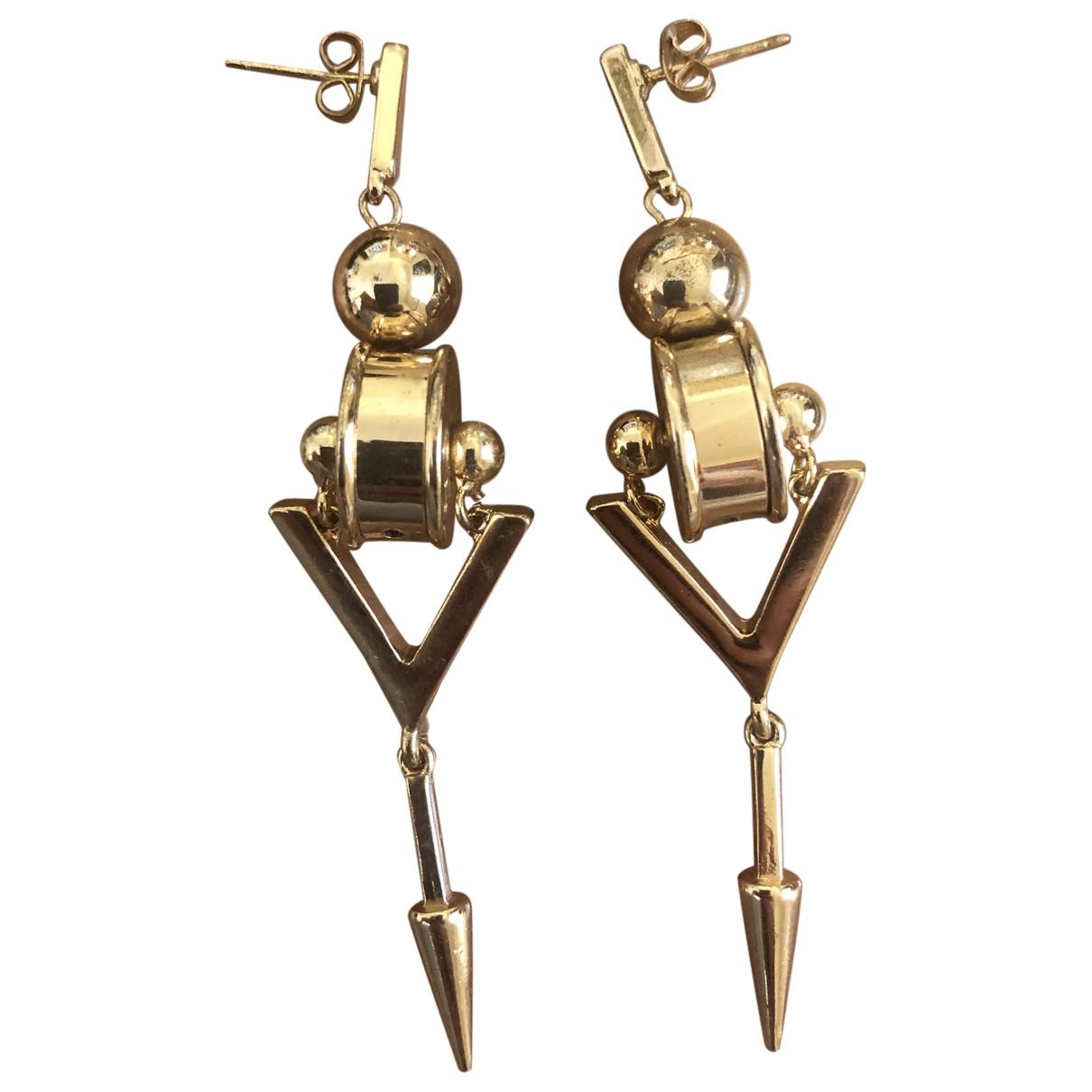 Zara \N OhrRing in  Gold Metall