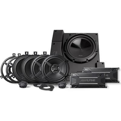 Alpine JK Weatherproof Sound System - PSS-22WRA