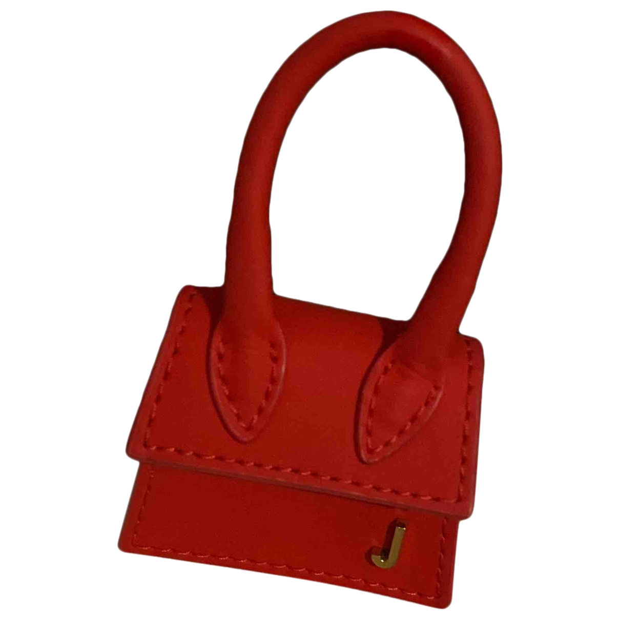 Jacquemus - Sac a main Le Petit Chiquito pour femme en cuir - rouge