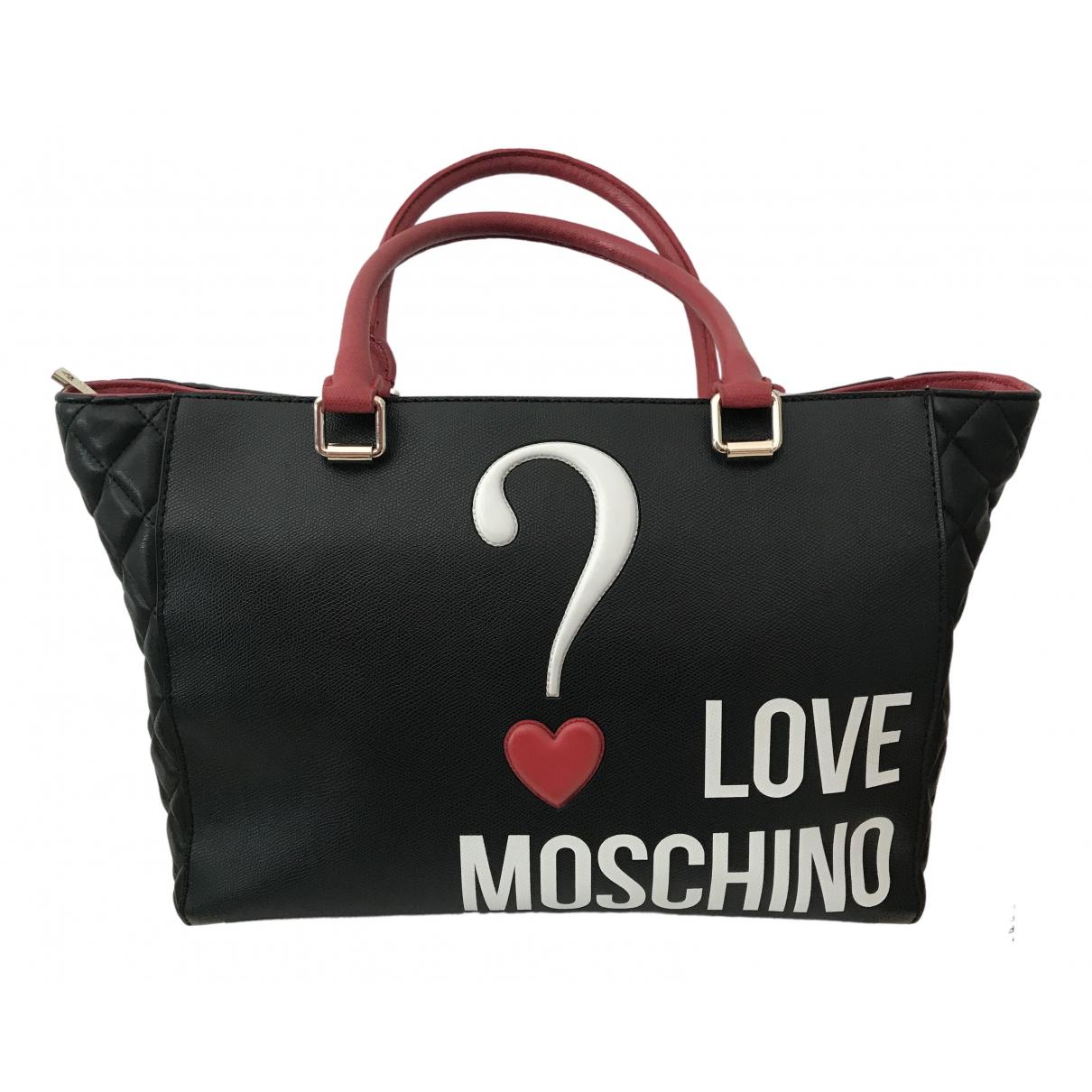 Bolso  de Cuero Moschino Love