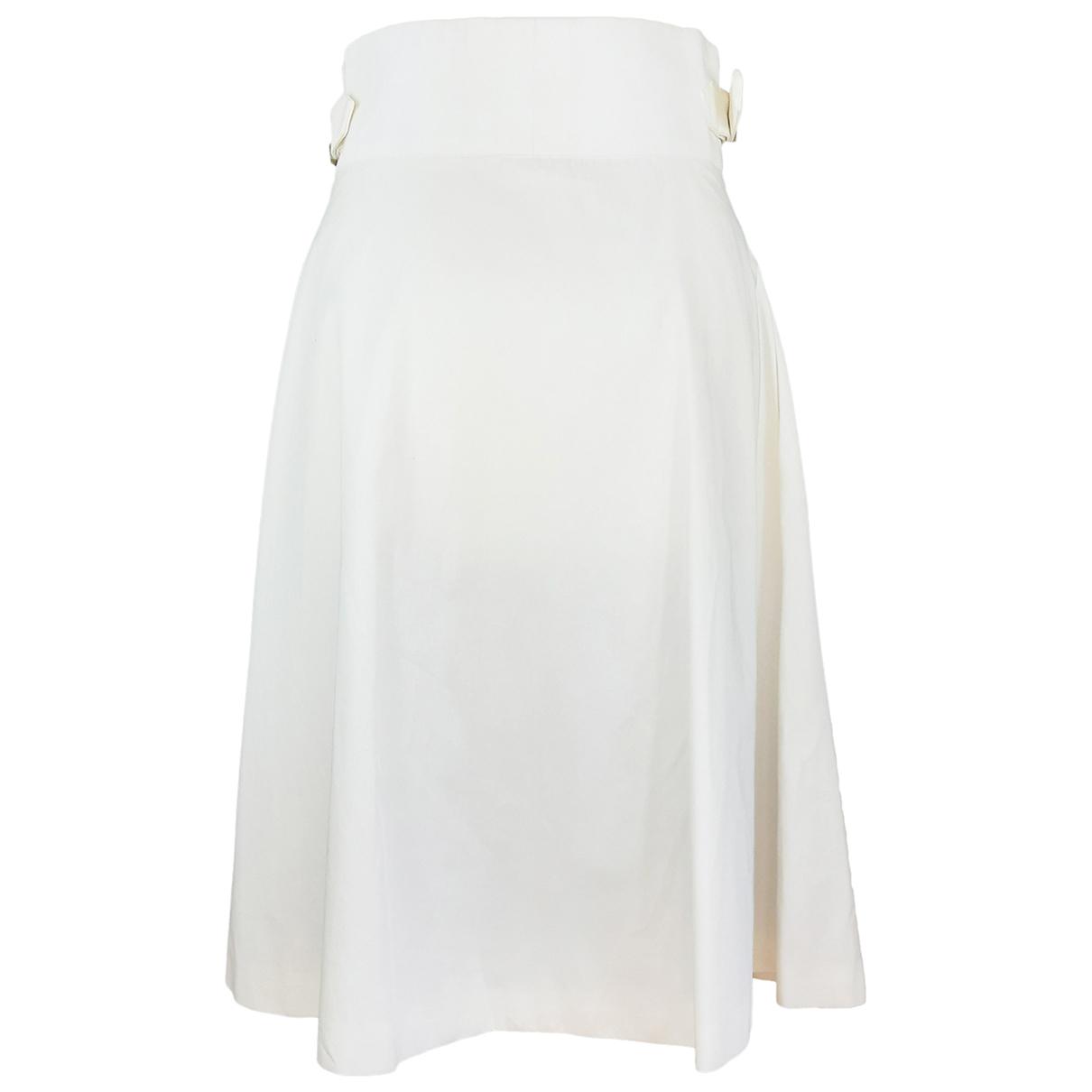 Ines De La Fressange Paris - Robe   pour femme en coton - blanc