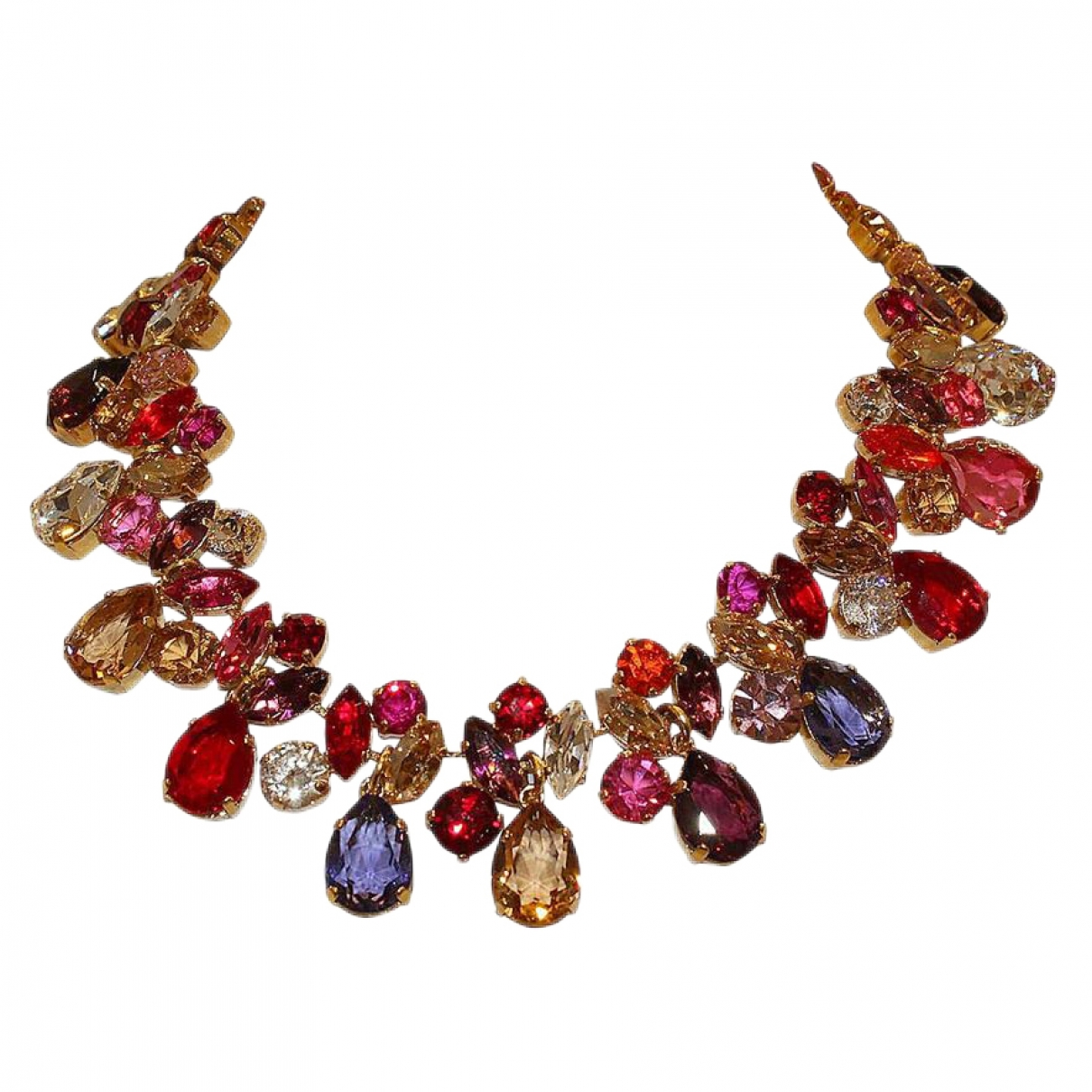 Carlo Zini \N Multicolour Metal necklace for Women \N