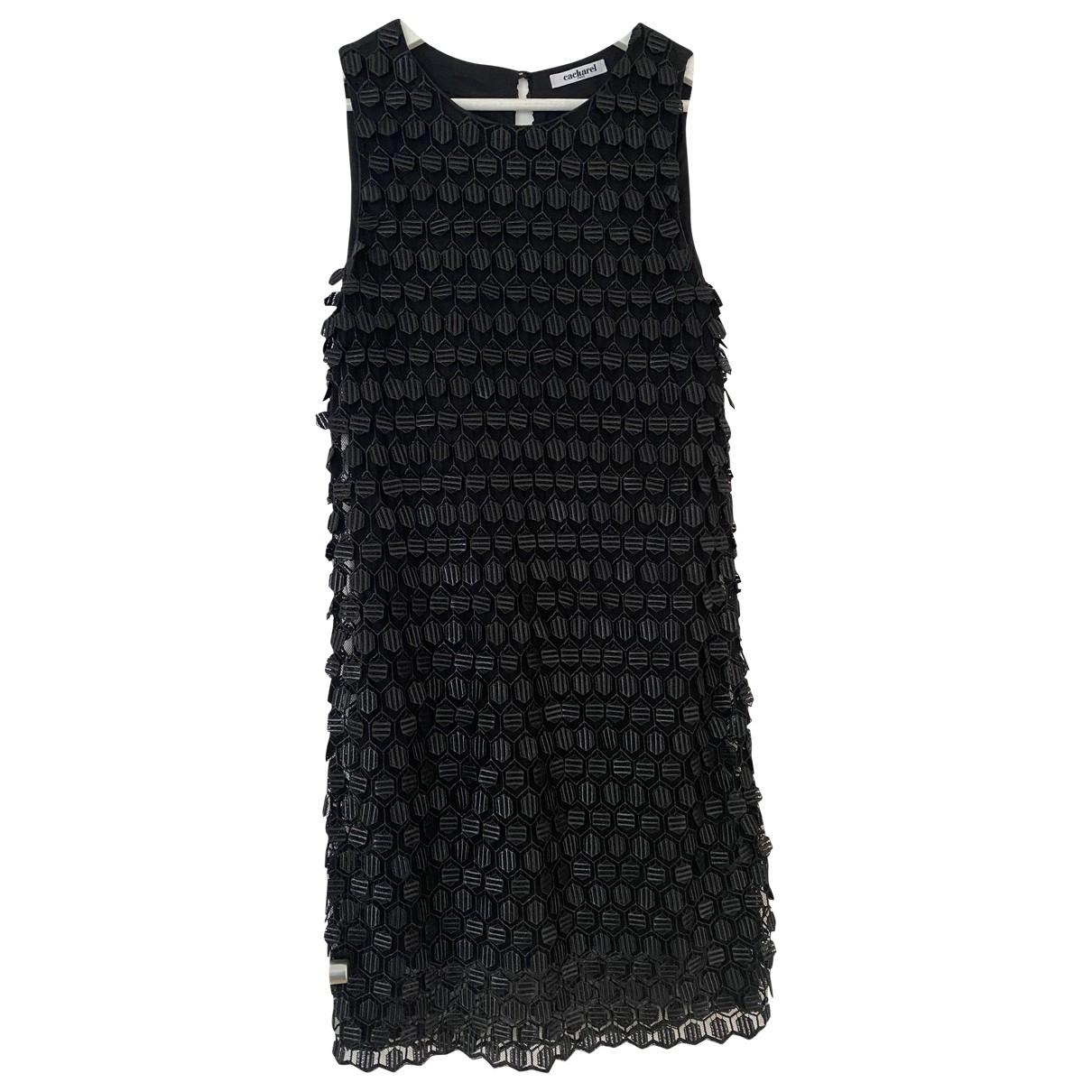 Cacharel \N Kleid in  Schwarz Polyester