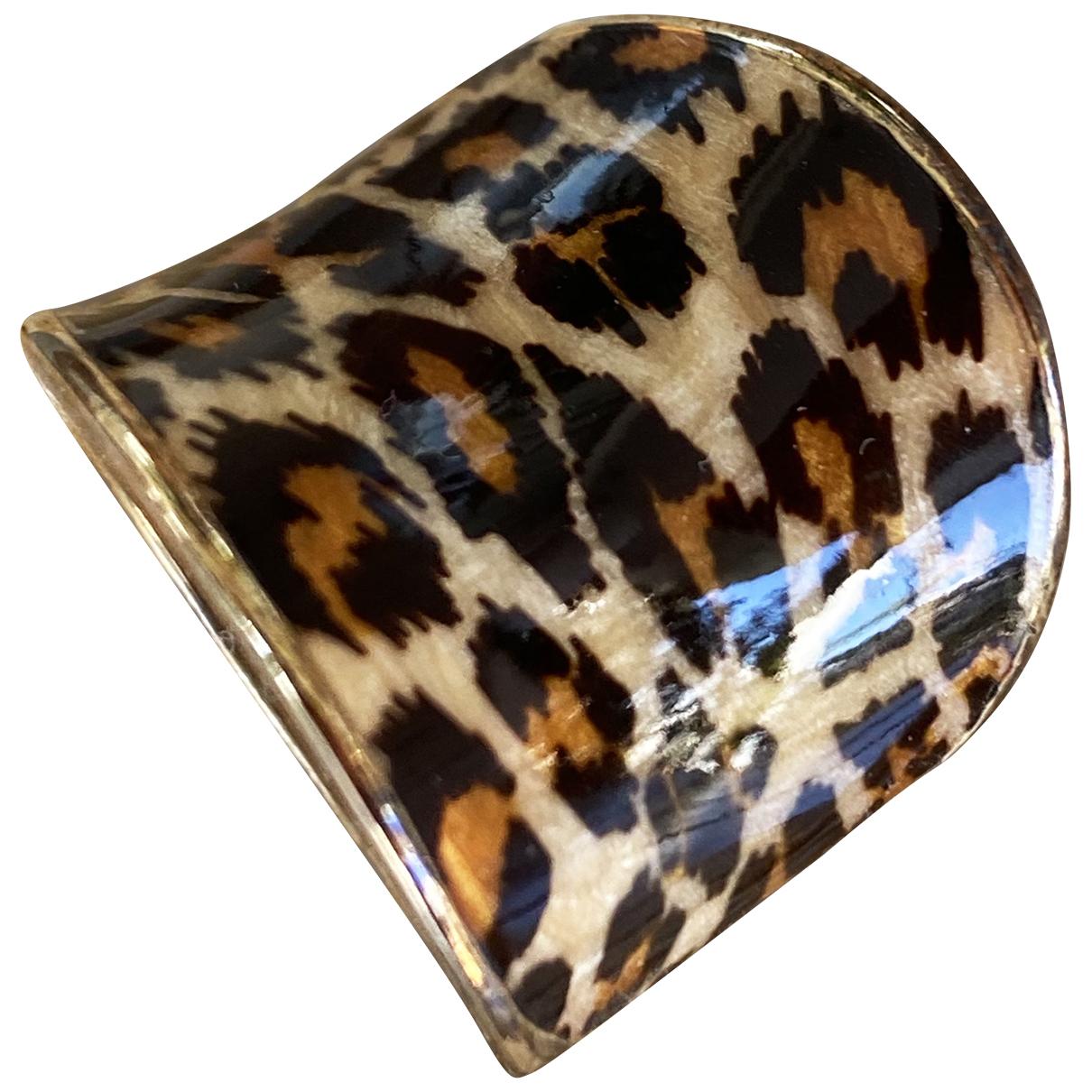 - Bague Motifs Animaliers pour femme en plaque or - dore