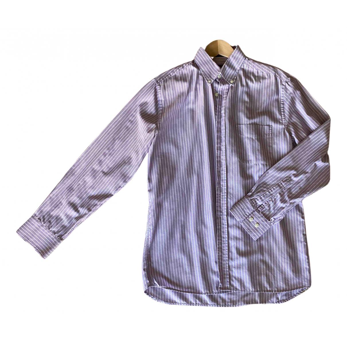 Gant - Chemises   pour homme en coton - violet
