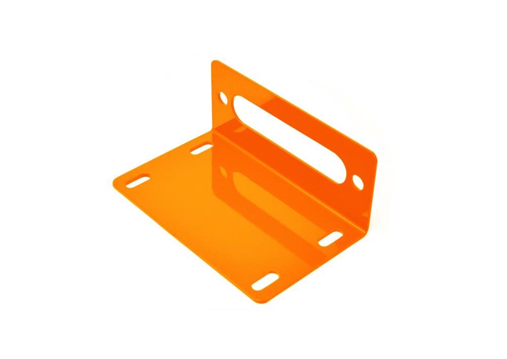 Steinjager J0048569 Fluorescent Orange Winch Fairlead Mount